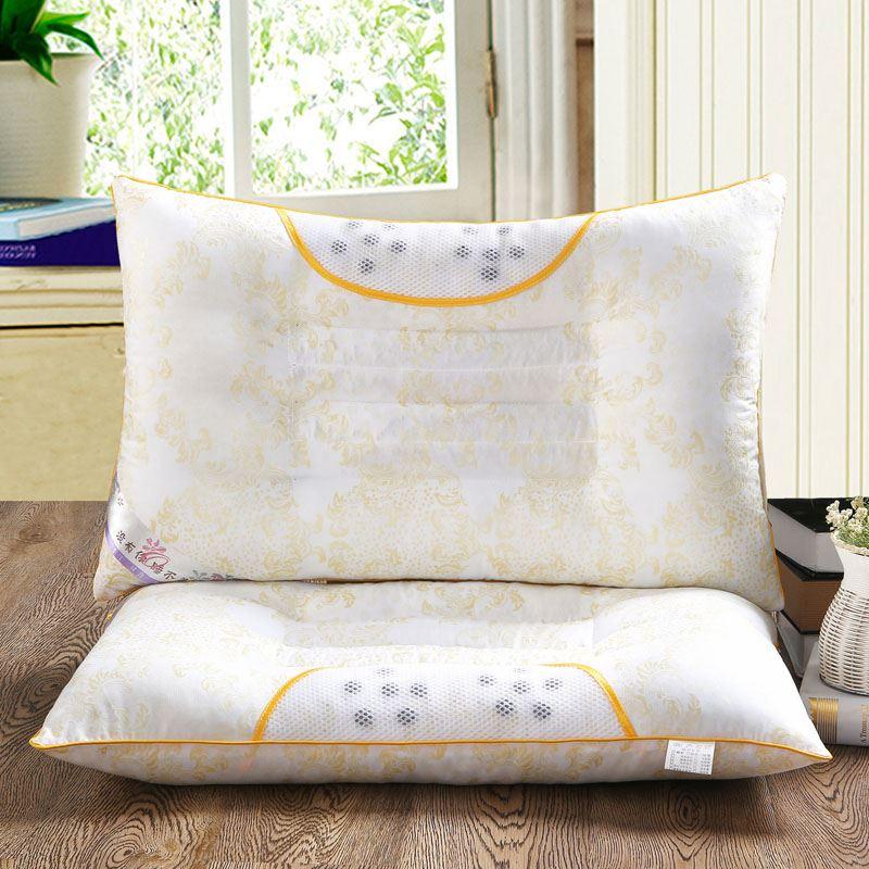 决明子磁疗枕头枕芯单人保健枕美容院家用枕超市药店礼品枕芯