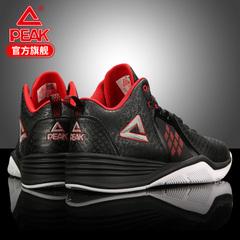 匹克篮球鞋男低帮春季新款时尚压纹战靴防滑球鞋减震运动鞋