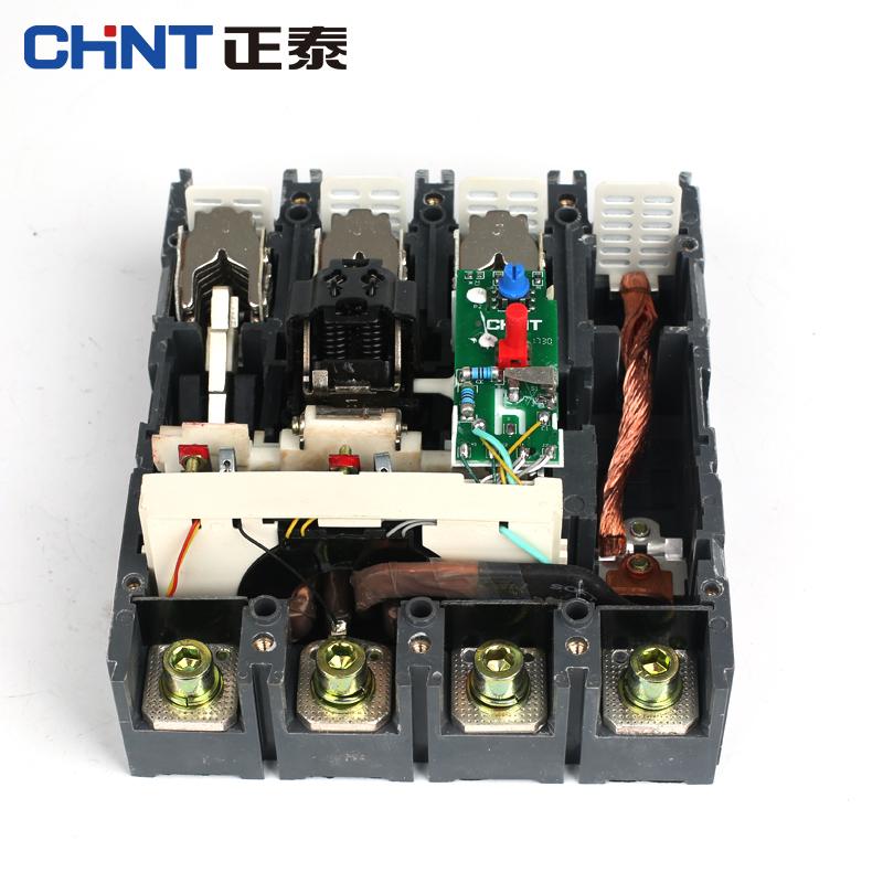 正泰塑壳漏电断路器NM1LE三相四线漏电保护器4P125A160A220A225A