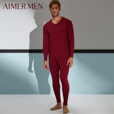 Mr. aimer men love warm sun AIR double knit trousers 73A573