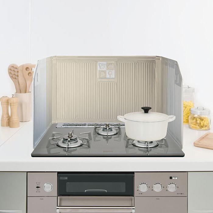日本东洋铝厨房档油板隔油铝箔板防油挡板灶台挡板隔油挡板挡油板