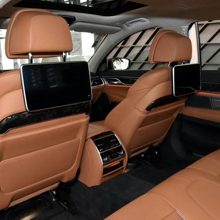 宝马新GT630i后排娱乐系统528i车载电视机535i头枕屏后座椅显示器