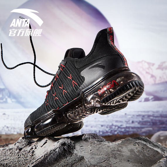 ANTA SEEEDNASA 60th commemorative shoes running shoes 2018 autumn casual shoes