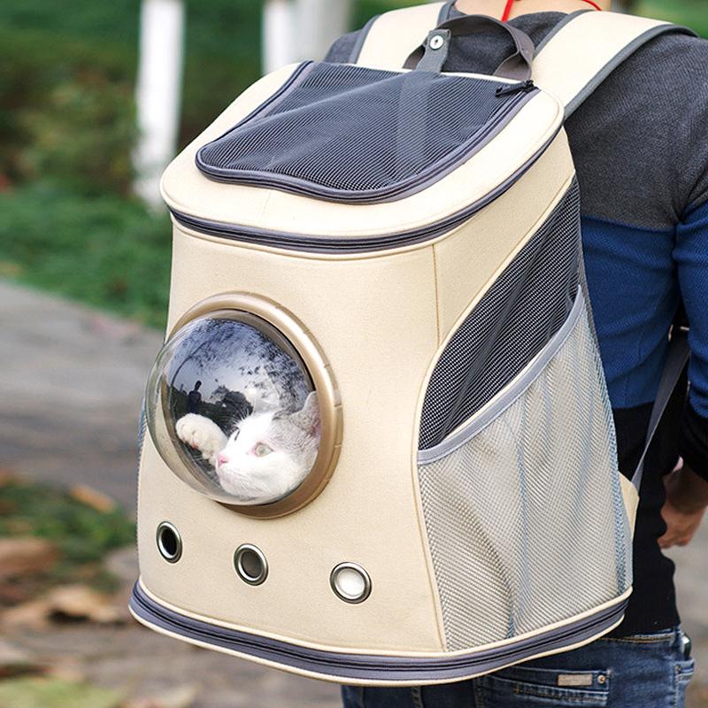 佩贝乐猫咪太空包猫背包宠物狗出行外出双肩包狗狗猫猫便携舱书包