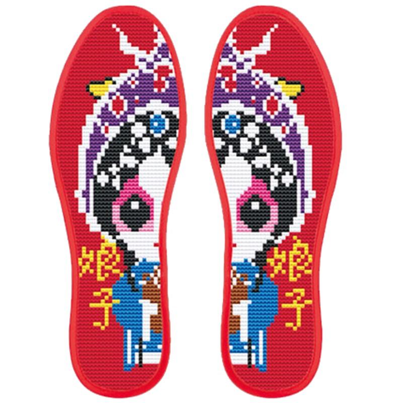 推荐最新纯手工鞋垫花样图 纯手工纳鞋垫花样图信息