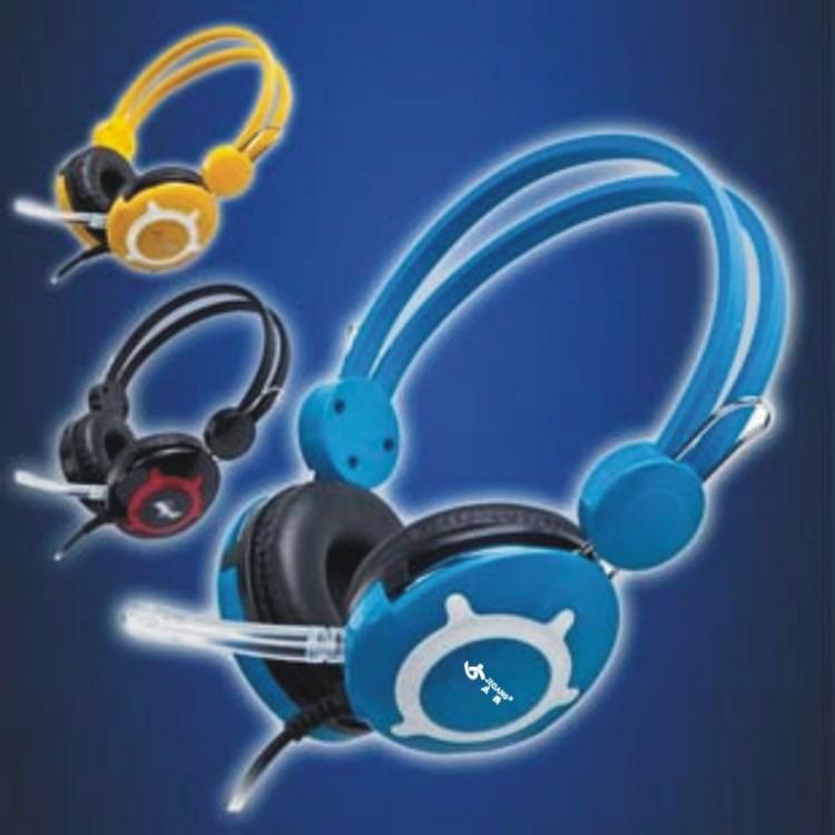 杰强耐磨818网吧超级 耳机特制 皮罩 耐用耐损 工厂编织线