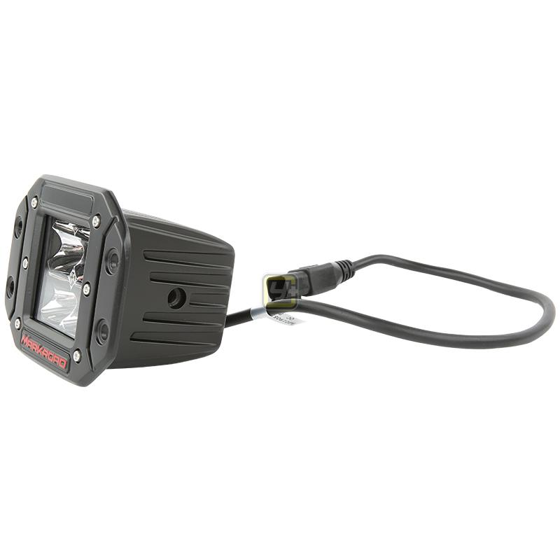 运良改装MR4粒带耳朵方型灯汽车射灯行驶灯户外越野装备越野车改