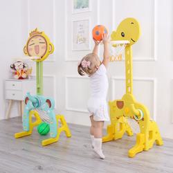 儿童篮球架室内可升降篮球框1-2-3-6周岁宝宝家用男孩球户外玩具