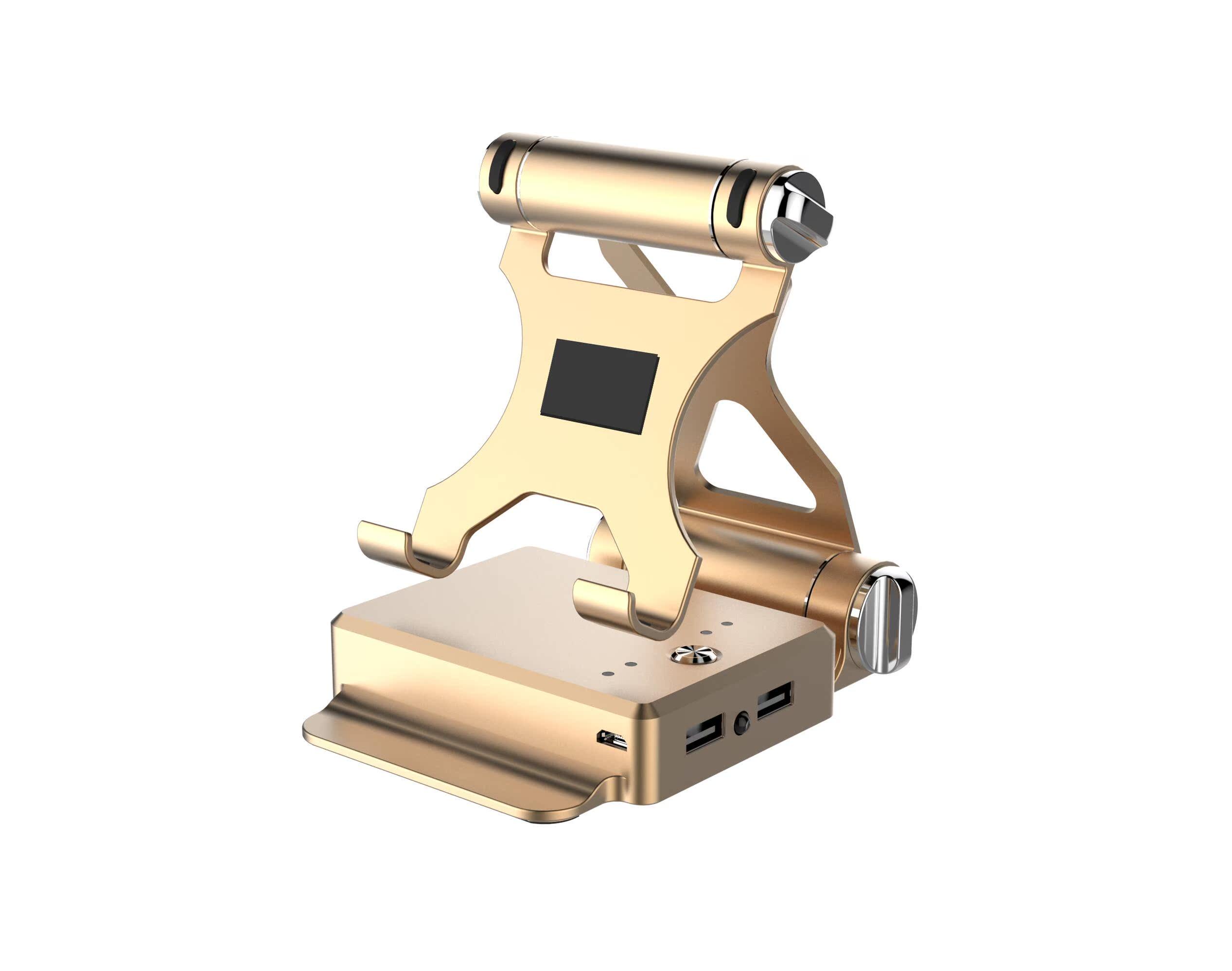 6000毫安移动电源支架充电宝支架移动电源懒人支架手机支架