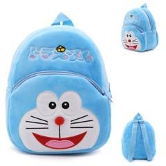 多啦A梦叮当机器猫男女孩双肩背包幼儿园儿童宝宝1-3岁毛绒小书包