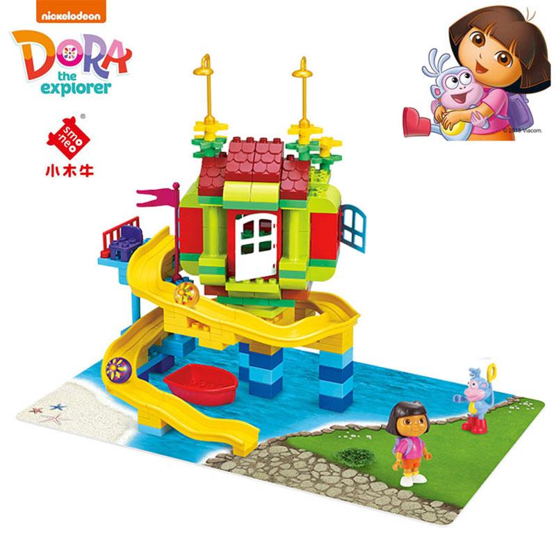 小木牛大颗粒积木朵拉99001-99005拼插益智3-6岁早教拼装儿童玩具
