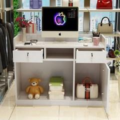 接待收银台服装店简约现代超市便利店柜台收银台新款小吧台桌小型