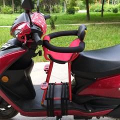 电动踏板摩托车儿童座椅电动车儿童宝宝座椅前置婴儿小孩子车座椅