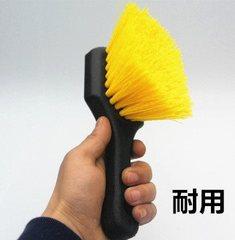 清理刷子美容店专用清洁刷轮毂刷脚垫汽车轮胎刷地毯手刷黄毛硬刷