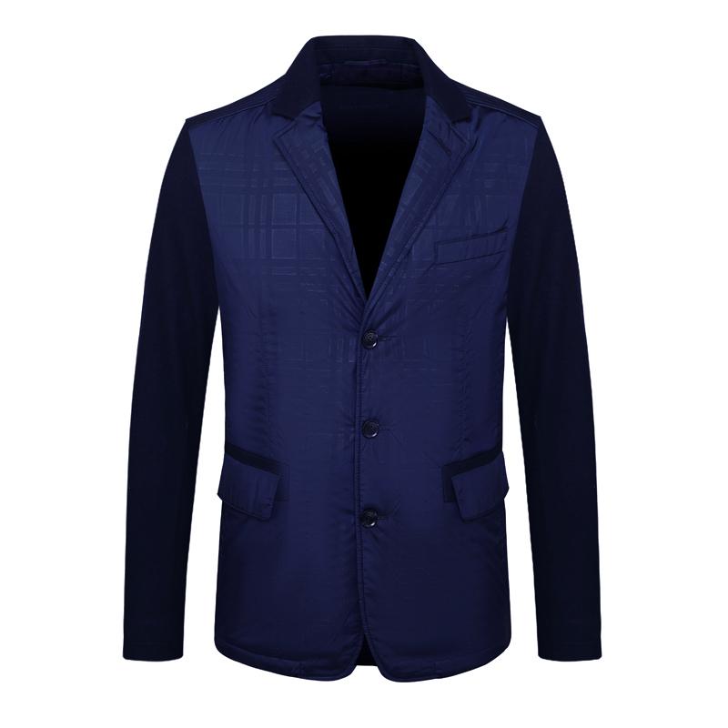 E655.鸟牌男式冬季棉服 含羊毛休闲保暖三粒扣棉衣外套 87883