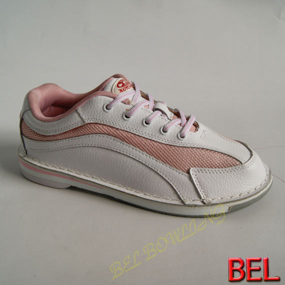 BEL bowling supplies, good quality, full leather, women's professional bowling shoes, flipping, bottoming, stepping, more stable