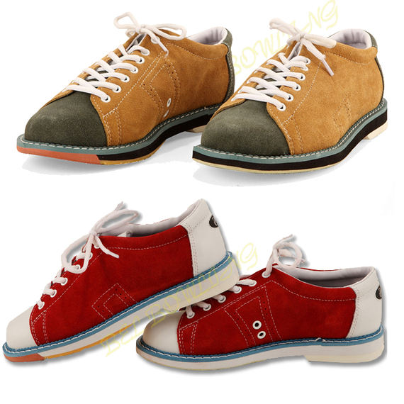 BEL bowling supplies 17 years of new anti-fur leather bowling shoes for men