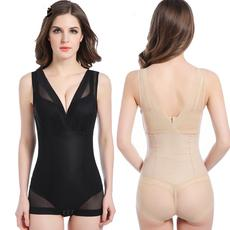Summer ultra-thin models corsets conjoined postpartum abdomen waist flat angle corsets shaping slimming clothes breathable women