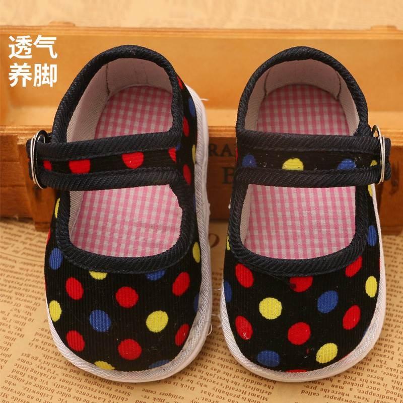正品[宝宝布鞋手工布鞋]宝宝手工布鞋鞋样评测 宝宝的