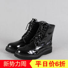 Fifteen series discount clips wild Martin boots classic lace thick bottom 2018 spring and autumn women's shoes XZ828