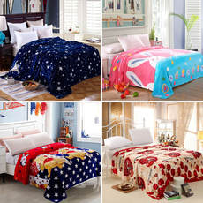 Sheets single piece winter coral fluff plus velvet list winter fur single 1.2m student dormitory short plush female