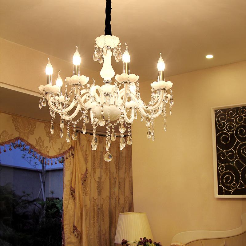 欧式水晶吊灯客厅灯具简约现代卧室灯创意餐厅图片