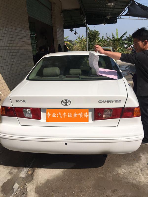 佳美汽车钣金喷漆全车翻新改色凹陷漆面划痕快速修复砂板喷漆