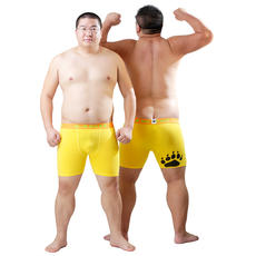 Designed for the bear bear paw print new sexy comfortable fat bear long plus size excellent bear Pingjiao bear claw underwear pants