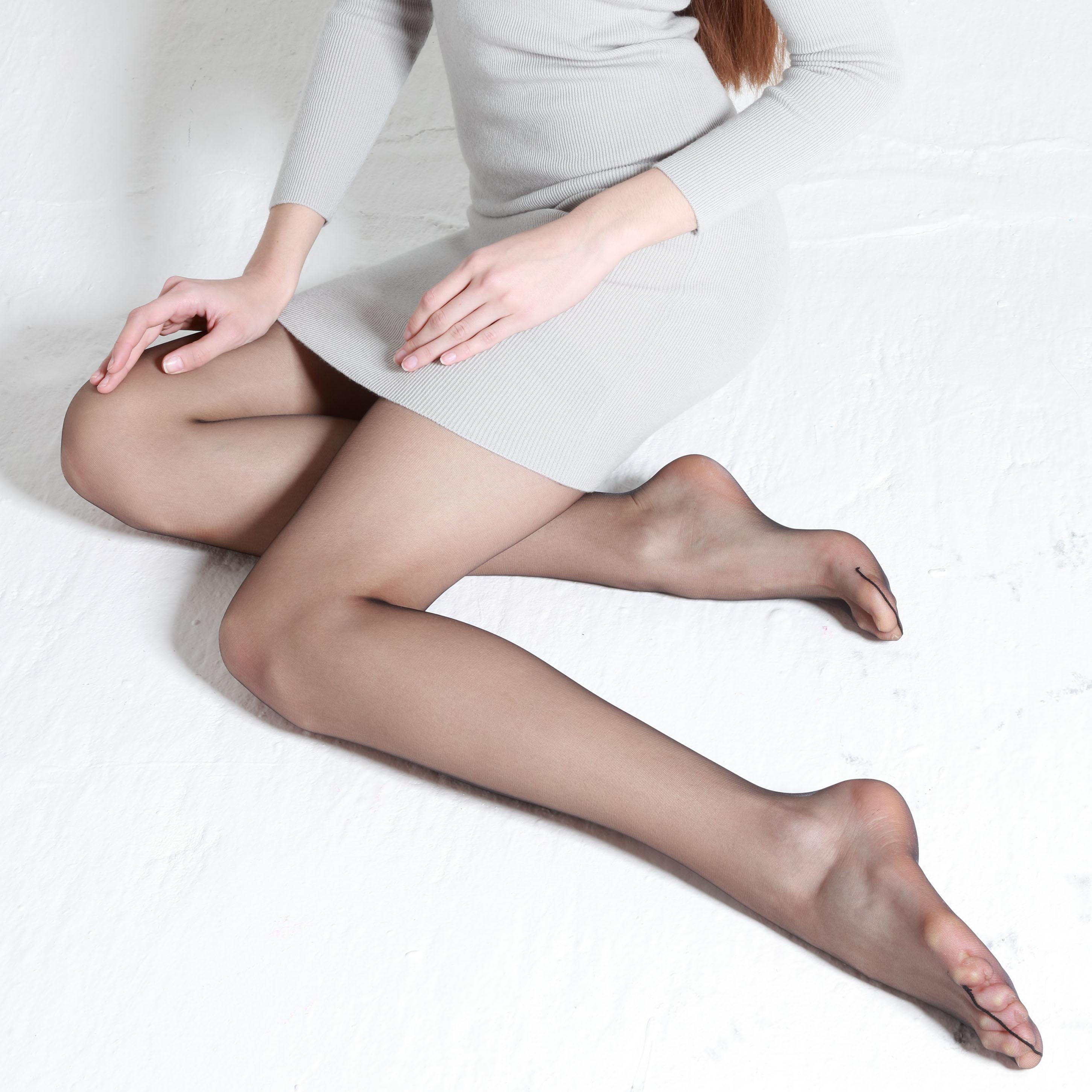 3双意大利Trasparenze性感黑丝袜8D夏季超薄隐形透明连裤袜capri