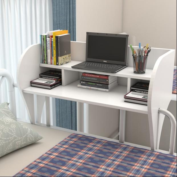 宿舍神器桌子学生宿舍床上书桌寝室床上电脑桌书柜床桌懒人电脑桌