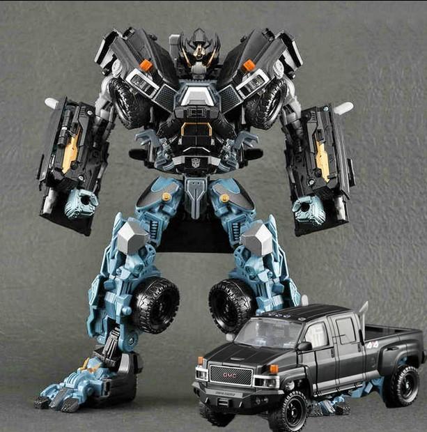 变形玩具金刚 电影3玩具 大黄蜂 铁皮 领袖级 L级 御天敌汽车人KO