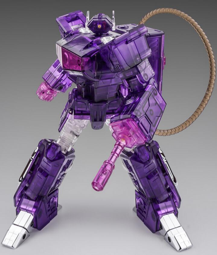 C9震荡波 紫色 透明版 Cloud9 W01 MP比例 合金变形玩具金刚 现货