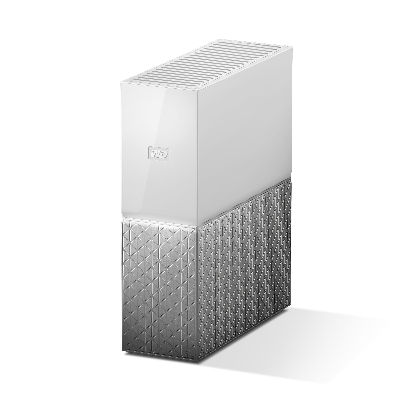 WD西部数据my cloud home 6tb智能存储管家 无线智能共享硬盘6t 家庭云存储 无线网络硬盘6tb 支持远程访问