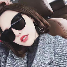 2019 new sunglasses star network red models UV sunglasses female GM Korean version of the street shooting ins round face