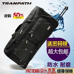 超轻拉杆箱超大容量32寸40寸旅行箱软牛津帆布男学生行李箱托运包