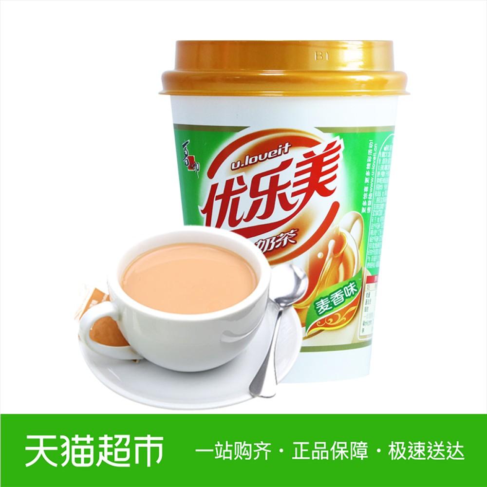 喜之郎 U.Loveit/优乐美奶茶 麦香味80g/杯奶茶冲饮
