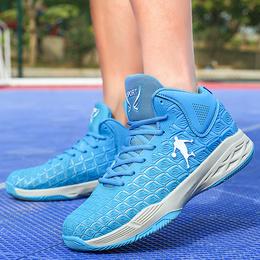 秋季低帮篮球鞋男轻便透气休闲运动鞋高中初中青少年学生科比战靴