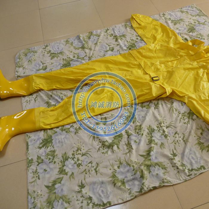 轻型防化服 简易防化服 耐酸碱服装二级化学防护服消防服连体