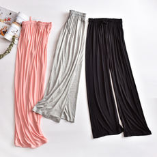 Conscience recommended Modal Pajama women's fall trousers thin section comfortable loose elastic large yard casual home pants