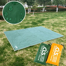 Outdoor large tarpaulin Oxford cloth mat portable cloth waterproof mats canopy awning picnic cloth