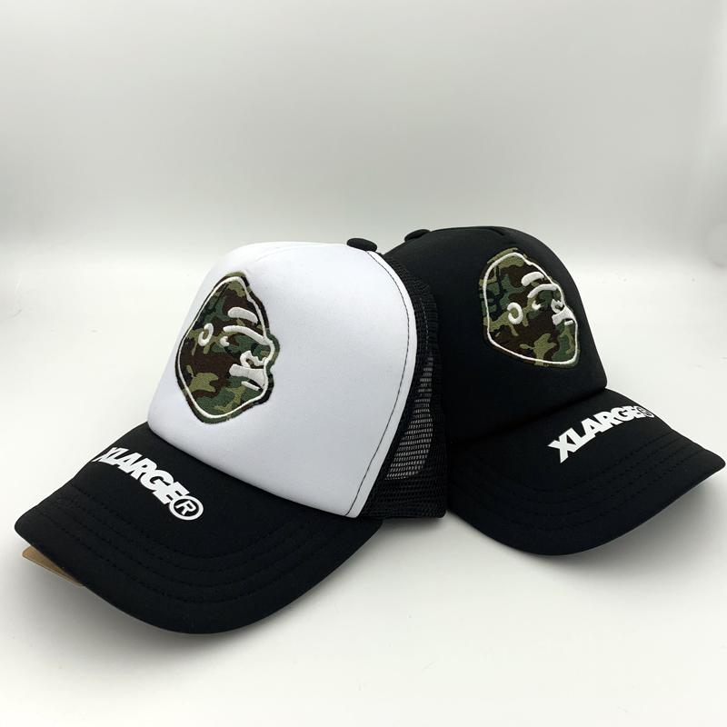 路人王路亚I.T折扣X-LARGE可调节迷彩路亚帽 鸭舌帽 网帽 棒球帽