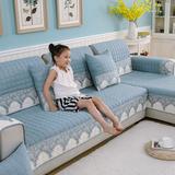 四季沙发垫通用布艺防滑简约现代沙发套全包万能坐垫欧式全盖夏季