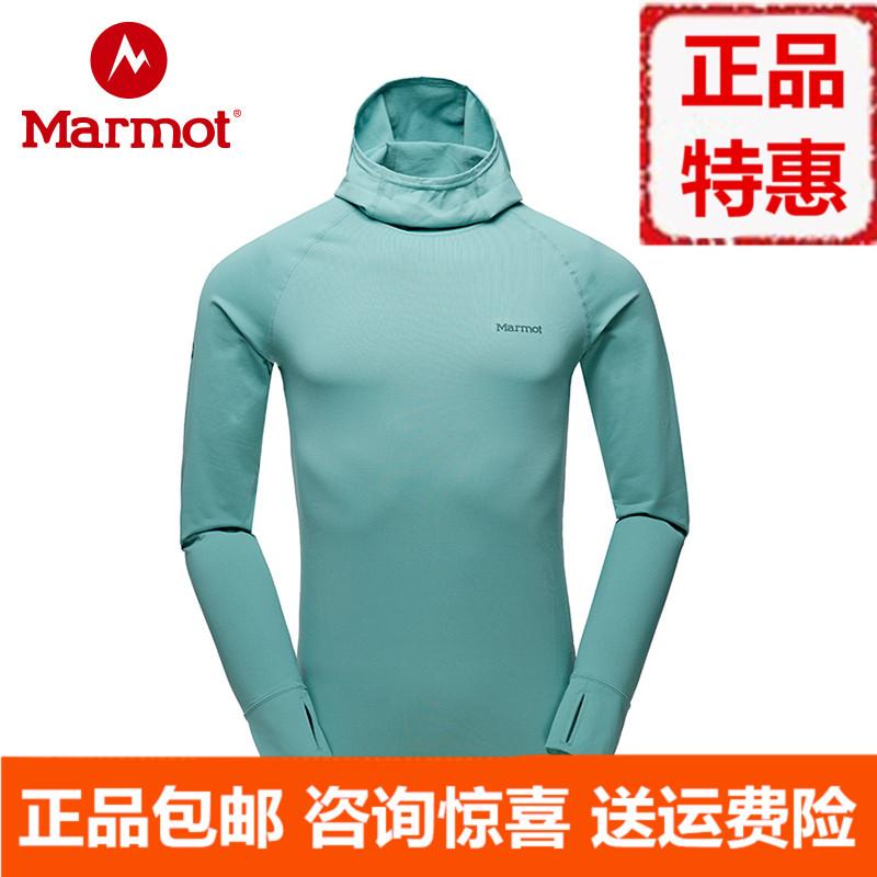 marmot/土拨鼠2018秋冬新款户外快干吸湿套头卫衣L10950