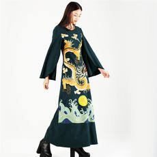 This shore song * original design shop - dark green dress robes, read her limited edition at midnight, 40% off