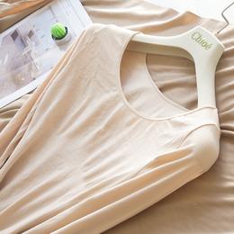 秋冬薄款肤色保暖内衣女上衣无缝塑身显瘦紧身打底衫长袖上衣T恤