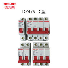 Authentic Delixi Miniature Circuit Breaker Household Air DZ47 1P 2P 3P 4P 1A- 63A