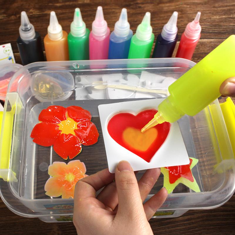 魔幻水精灵玩具 手工制作diy自制海藻酸钠材料神奇海洋胶水宝宝