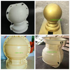 Feng Shui ball mold European-style components GRC cement round Roman column mold concrete railings pier ornaments