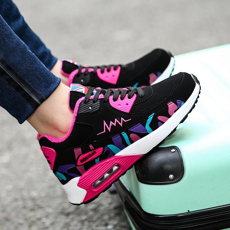 春秋季10小学生女孩运动鞋11防水皮面12中大童初中女生跑步鞋15岁