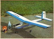 40-46 oil fixed fixed wing remote control light wood fuel practice trainer aircraft aircraft model production drawing printing